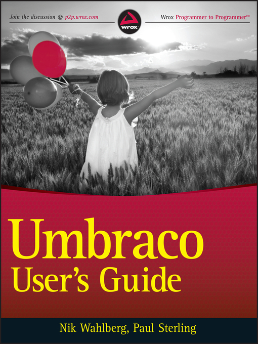 Umbraco User&#39;s Guide (eBook)